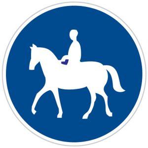 Stezka pro jezdce na zvířeti