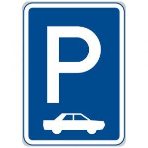 Parkoviště (kolmé nebo šikmé stání)