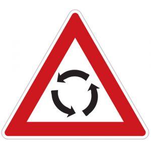 Pozor, kruhový objezd