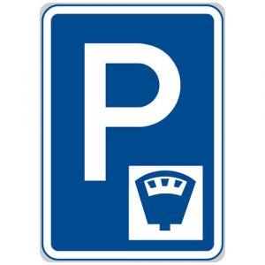 Parkoviště s parkovacím automatem