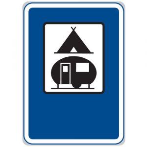 Tábořiště pro stany a pro obytné přívěsy