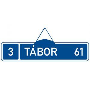 Směrová tabule (s jedním cílem)