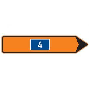 Směrová tabule pro vyznačení objížďky