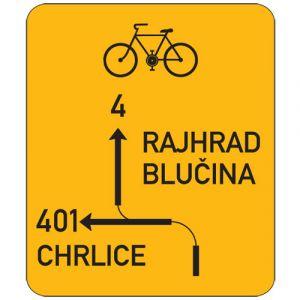 Návěst před křižovtakou pro cyklisty