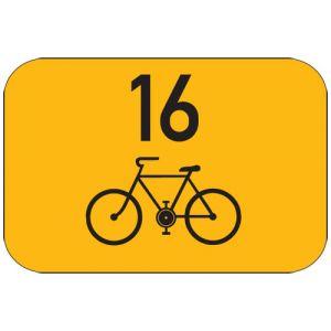 Směrová tabulka pro cyklisty