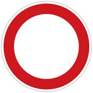 Zákaz vjezdu všech vozidel (v obou směrech)