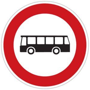 Zákaz vjezdu autobusů