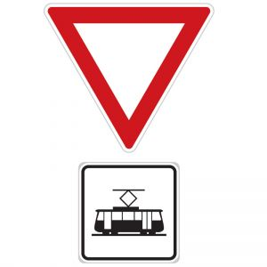 Dej přednost v jízdě tramvaji