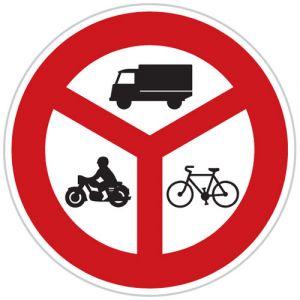 Zákaz vjezdu vyznačených vozidel