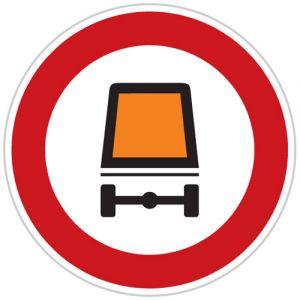 Zákaz vjezdu vozidel přepravujících nebezpečný náklad