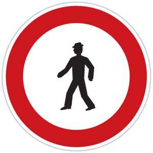Zákaz vstupu chodců